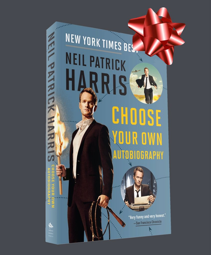 Neil Patrick Harris On Twitter My Book Makes A Great Holiday Gift