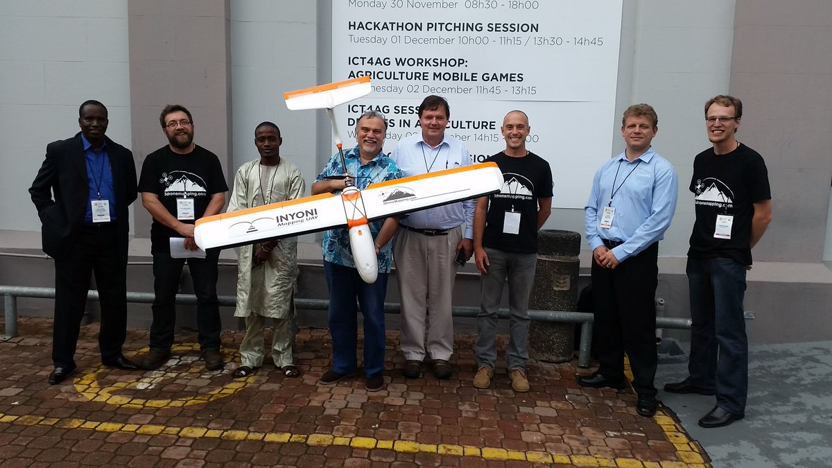 Experts at the #GFIAAFRICA conference celebrating successful session on #drones 4 #agriculture @UAV4Ag