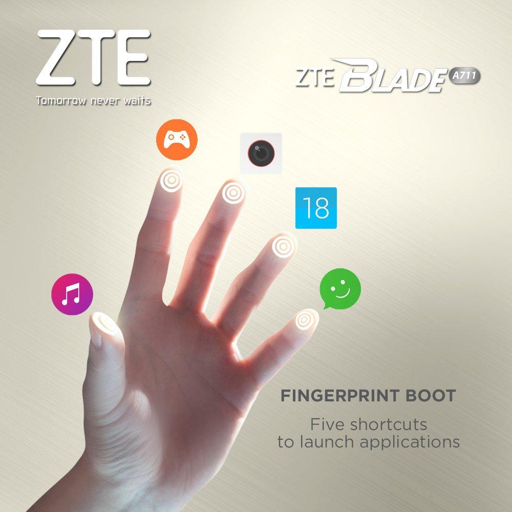 Fitur Fingerprint Boot #ZTEBladeA711