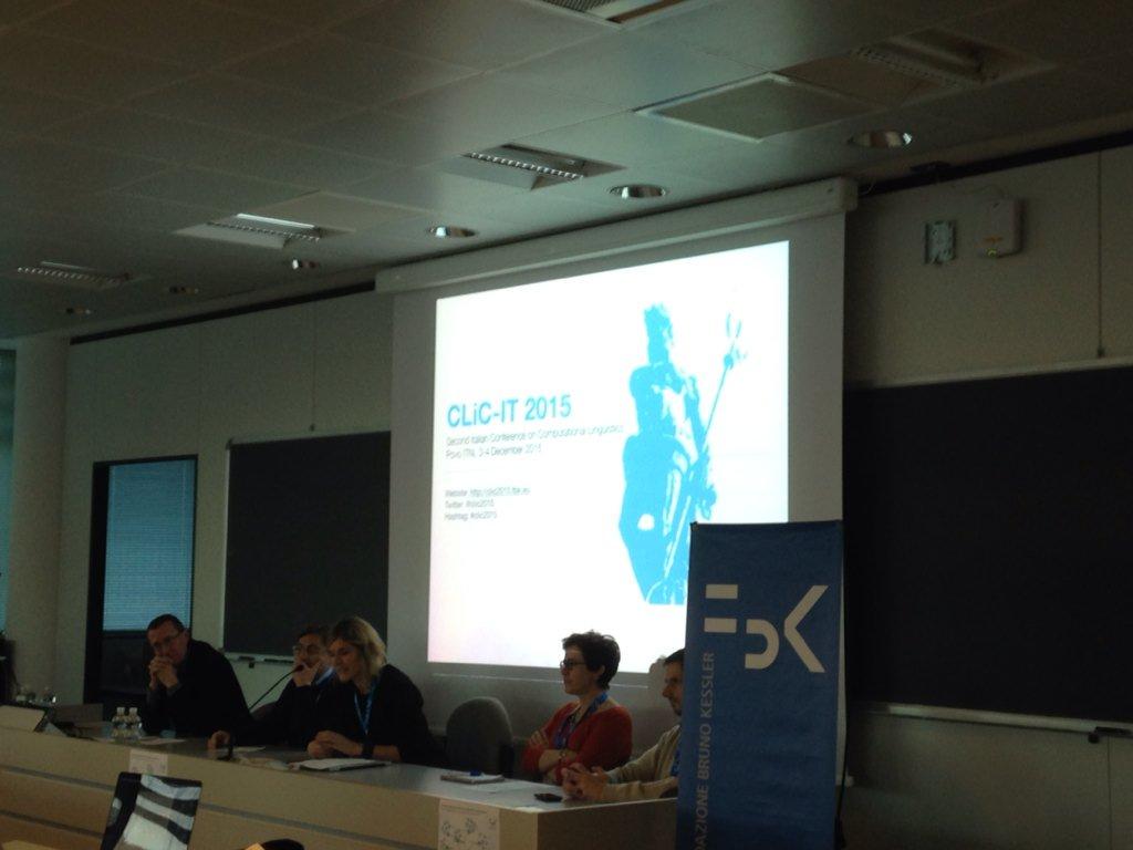 We are ready to start #clic2015! #Trento https://t.co/lHLvBOZveN