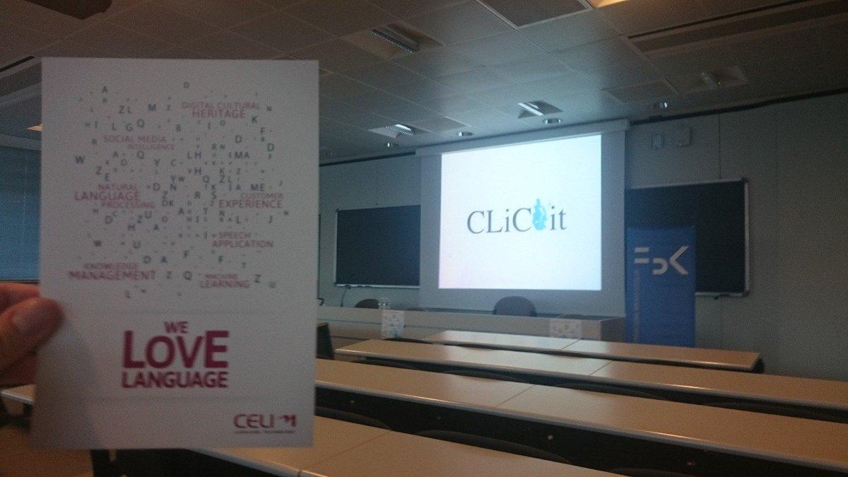 Good morning computational linguists and friends! @CELI_NLP @DH_FBK @FBKcom @clic2015 #clic2015 https://t.co/bneRJbJqlS