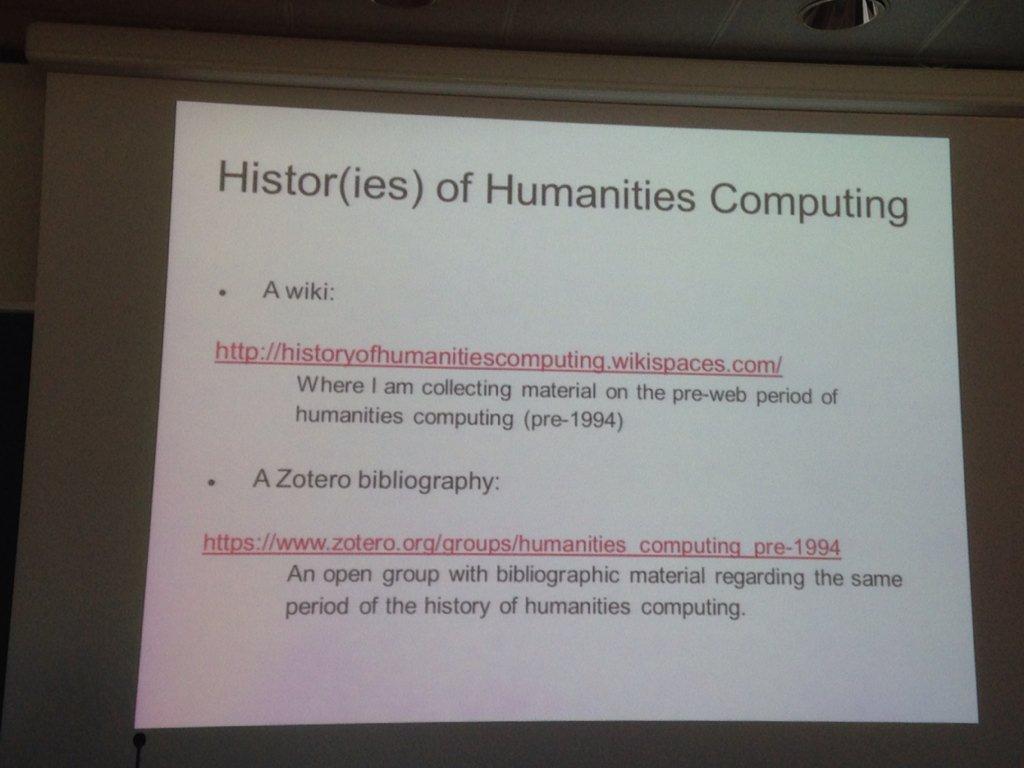 Interesting links to #collaborative resources by @giorgioguzzetta #clic2015 @f_nanni #DH https://t.co/PUMTYwDgvx