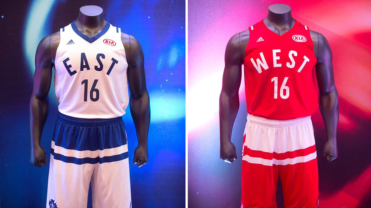 2016 all star game jerseys