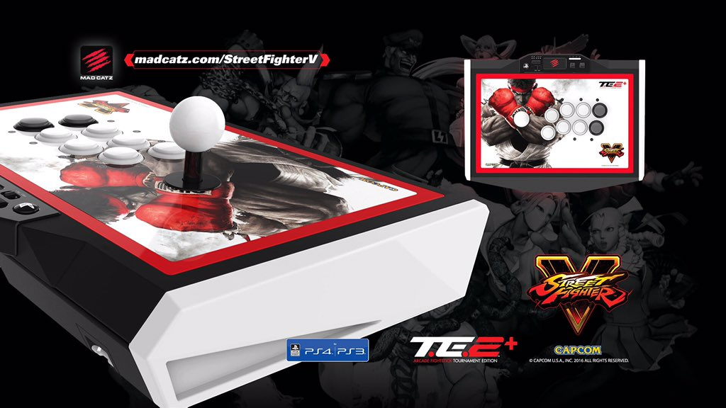 Street Fighter V Arcade FightStick Tournament Edition 2+ (TE2+)