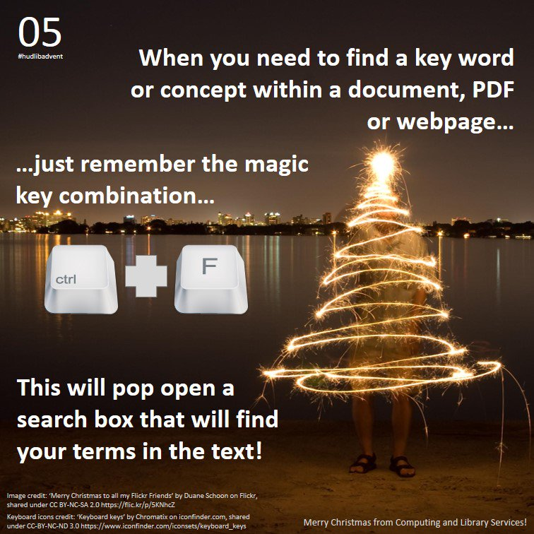 #hudlibadvent day 5, and here's a tip to help with ploughing through those long articles in search of a key term... https://t.co/wewJGqYf4k