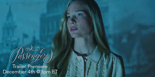 Excited for @alexbracken 's #Passenger?  Be at the ready on Friday @ 3 ET – the #booktrailer will be live! https://t.co/2vSGVVbGEX