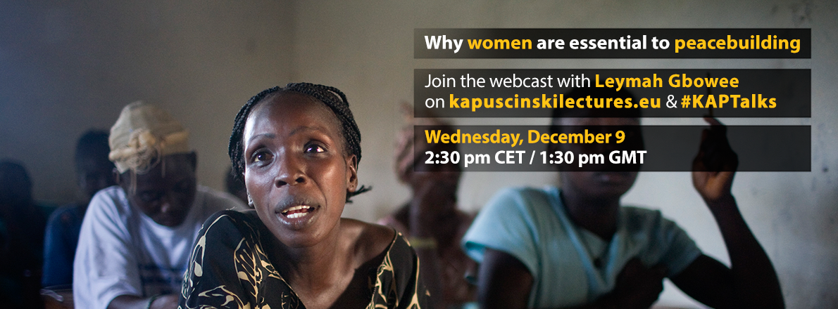 How can women change the fate of a nation? Hear Gbowee's powerful testimony at #KAPTalks: https://t.co/cEgCYzkNVr https://t.co/FTLRpiUgfm