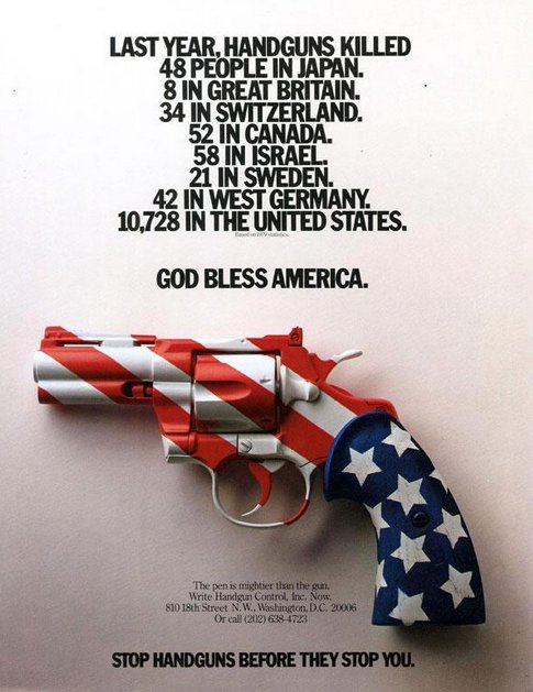 #tbt Gun control ad from 1981, made by Rick Boyko soon after John Lennon's killing. The stats look familiar. https://t.co/SsKpZuTkay