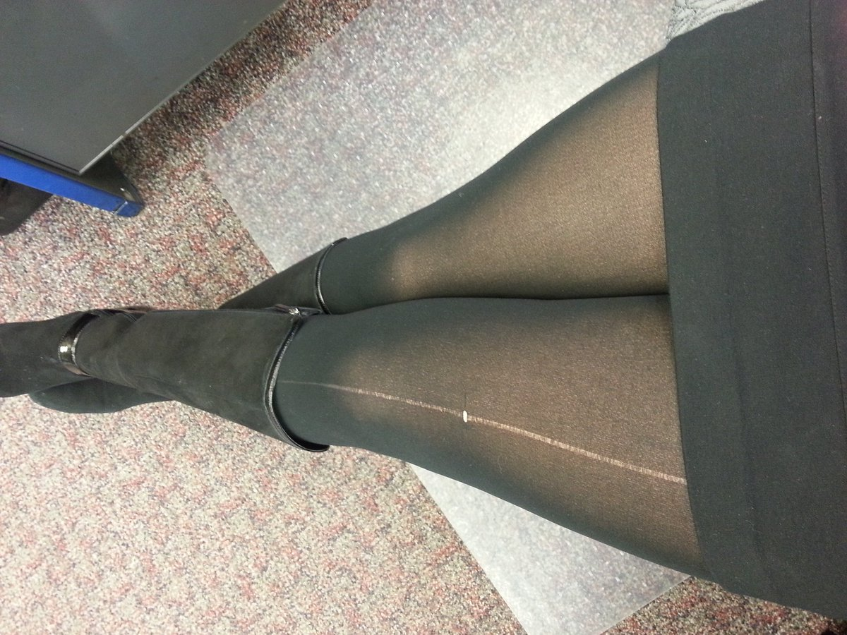 My pantyhose were ruined