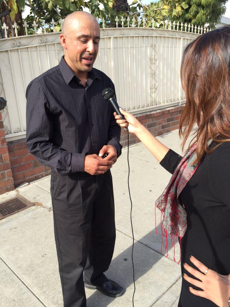 Community member Gusatvo Ramirez stresses love for San Bernardino to recover from this tragedy @atvn https://t.co/v4ebEqAyaj