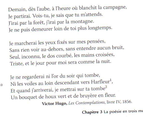 Marie Farret בטוויטר Poème De Victor Hugo La Douleur D