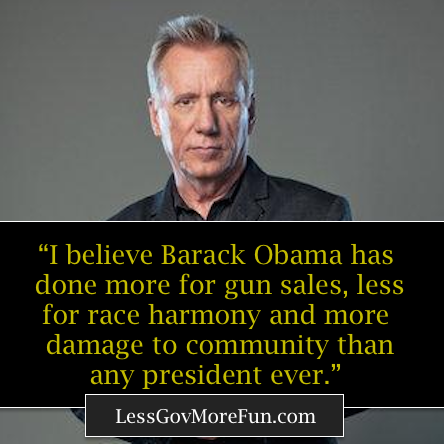 MT @LessGovMoreFun: James Woods speaks it straight up. Any questions? #NRA #Liberty #Freedom https://t.co/orA06wziym #2A #PJNET