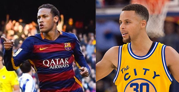 c2514c219e54 Neymar admits to changing his hairstyle to look like Steph Curry ...