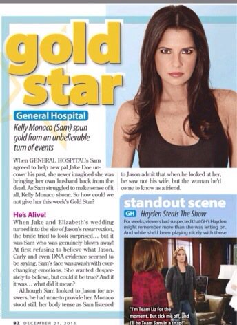 Way to go @kellymonaco1 #goldstar https://t.co/aQ8Yyy7qdX