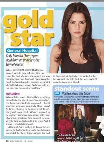 Shocked!! Look who got the gold star! Way to go @kellymonaco1 !!! https://t.co/I4OJIepzRV