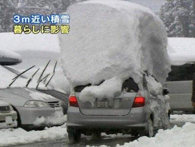 一晩で雪が降り積もった雪国の様子をごらんください https://t.co/uB16q4hJPU