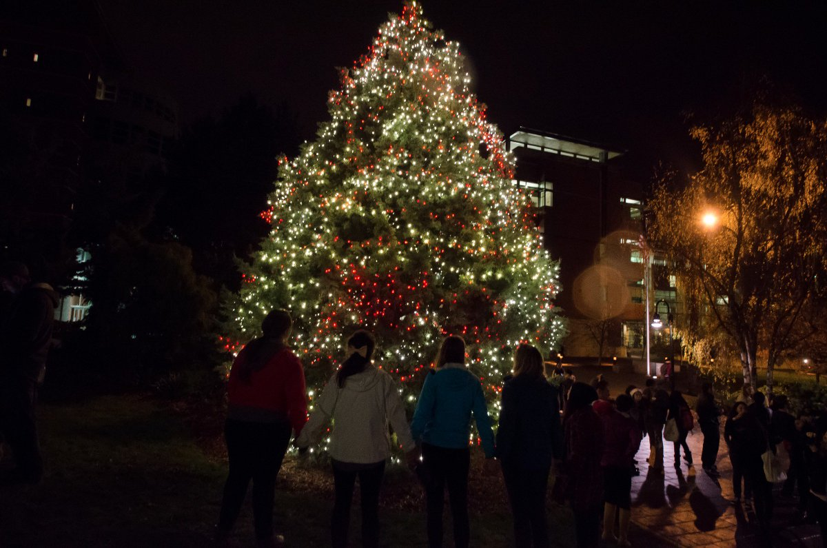 seattle university on twitter join us at 630 pm outside the library for the annual seattleu christmas tree lighting httpstconeapxtj7ju