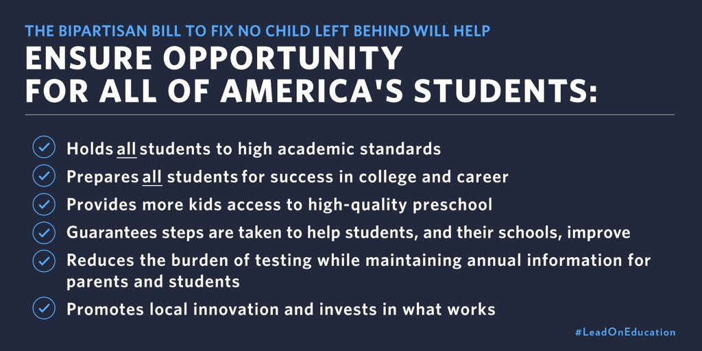 The Every Student Succeeds Act >> Us Dept Of Education On Twitter The Every Student Succeeds Act