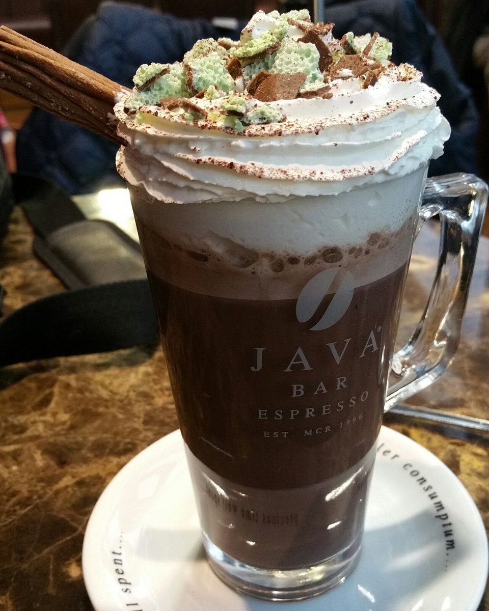 Java Bar Espresso On Twitter Javas Mint Hot Chocolate