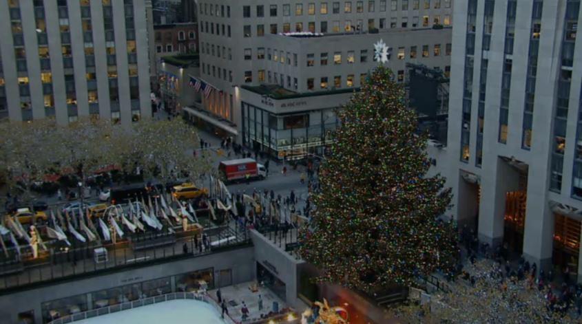 Rockefeller center weihnachtsbaum livecam