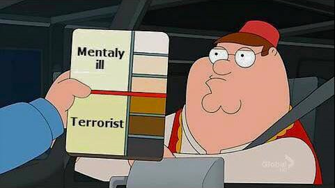 Image result for mentally ill terrorist family guy