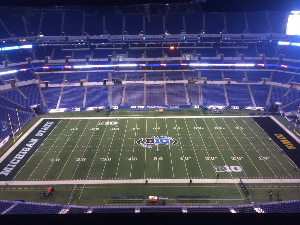The stage is set. #B1GFCG https://t.co/Yu26YAFVJ4
