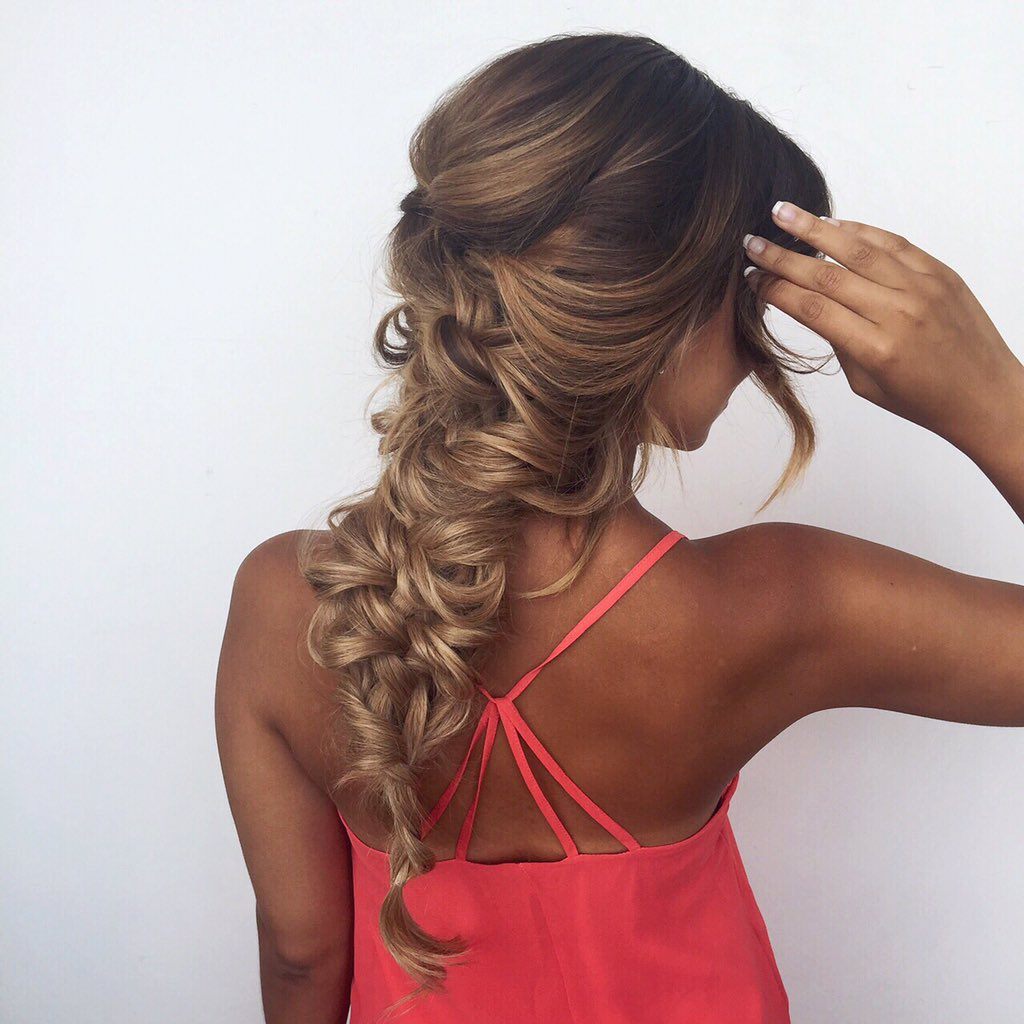 Luxy Hair On Twitter Tbt To Mermaid Braids And Tan Lines