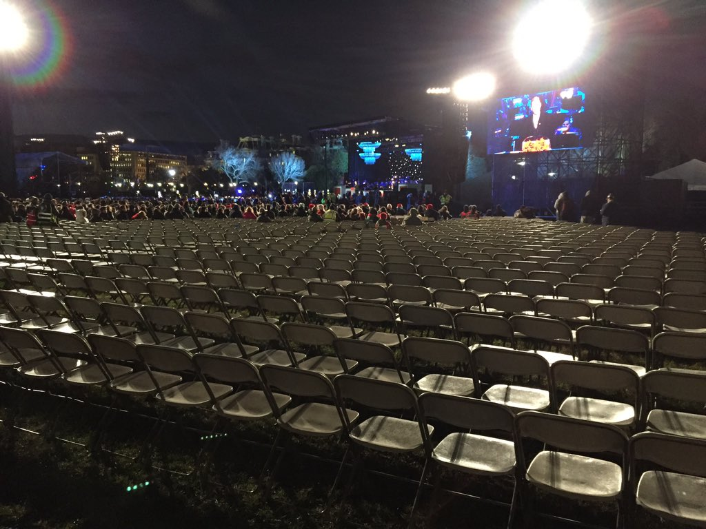 Don Watrud On Twitter A Lot Of Empty Seats At Showtime For The