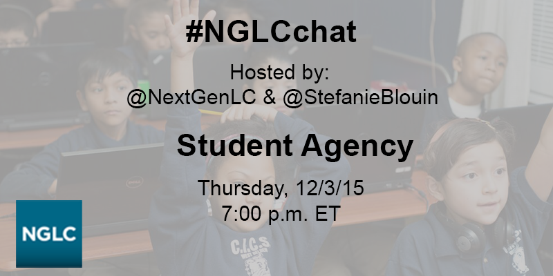The #NGLCchat will start in a few minutes w/ @betamiller @GraceBelfiore @davelash @TarrantCasey https://t.co/dankgahXm4