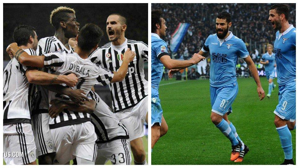 LAZIO JUVENTUS Streaming Calcio Gratis: info Diretta TV Oggi
