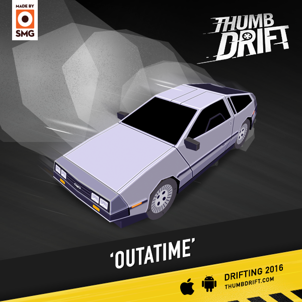 Smg Studio On Twitter More Cars For Thumbdrift The Delorean