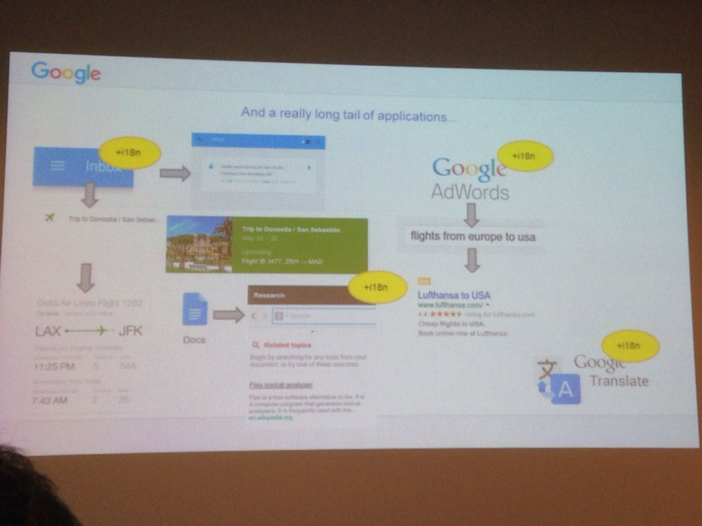 From #research to applications @googleresearch by Alfonseca #clic2015 #nlproc https://t.co/wBnLadIVBQ
