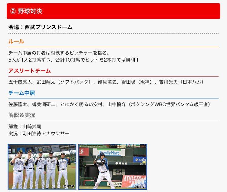 プロ野球関連のテレビ番組情報共有スレfc2>10本 YouTube動画>6本 ->画像>21枚