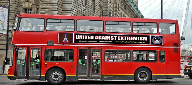 Muslim group @AhmadiyyaUK continues 'United Against Extremism' campaign https://t.co/JxPfvoMgf9 https://t.co/ONNufCU23Q