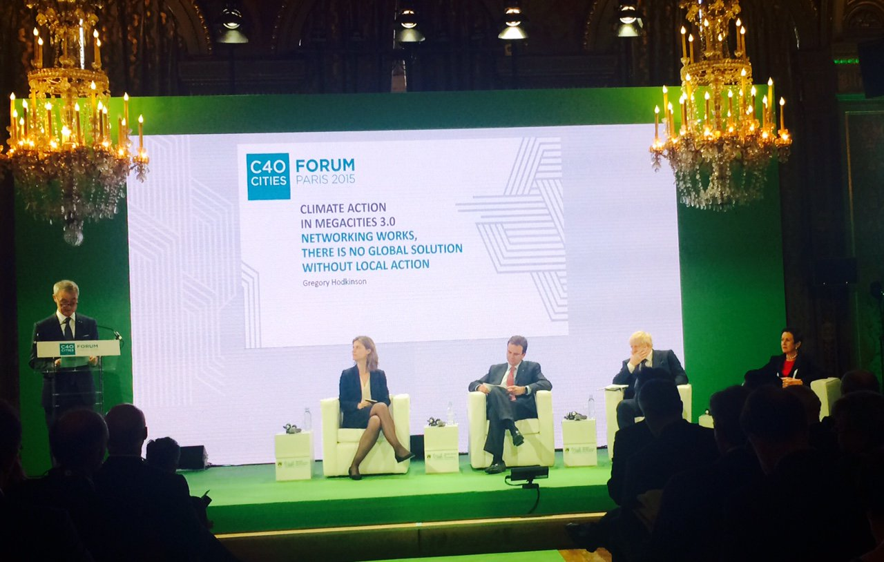 This morning I spoke on a panel @C40cities alongside Mayors of Rio @eduardopaes_ and Sydney @CloverMoore https://t.co/Zc7NnhLFgb