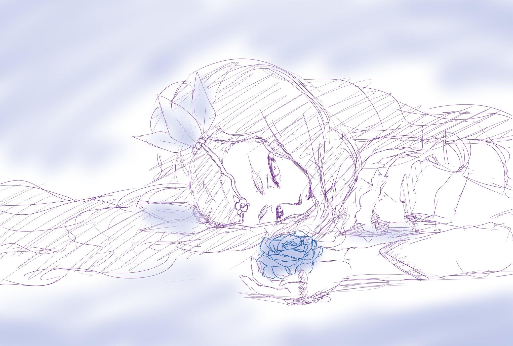 樹@律子Pではありません (@concerto_itsuki)さんのイラスト