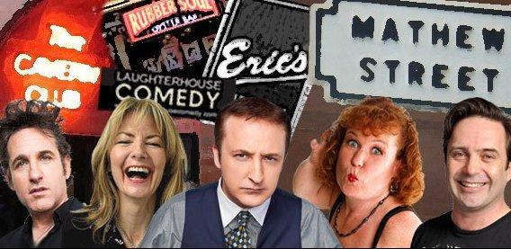 Laughterhouse Comedy Mathew Street