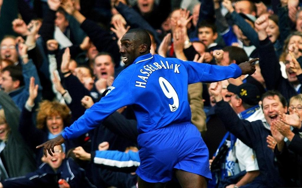 Image result for jimmy floyd hasselbaink chelsea nine
