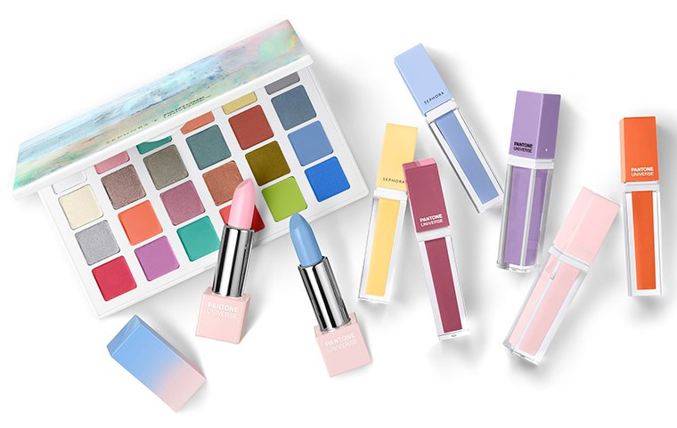 New! Sephora + Pantone Universe Color of the Year Collection for 2016 https://t.co/TMD1V6M3bF https://t.co/SKZhK2uQ51