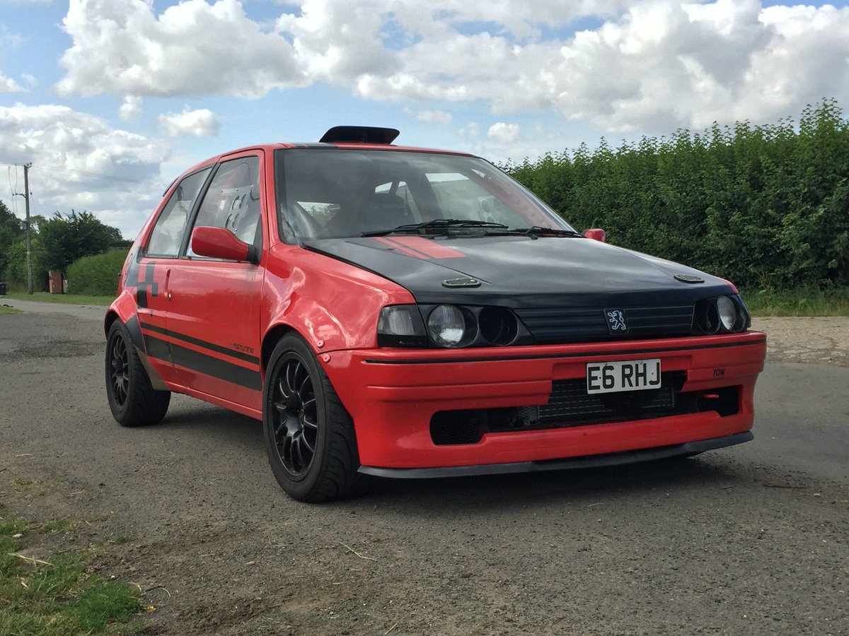 project cars uk on twitter 1992 peugeot 106 xsi highly modified with a 16v 106 gti engine. Black Bedroom Furniture Sets. Home Design Ideas