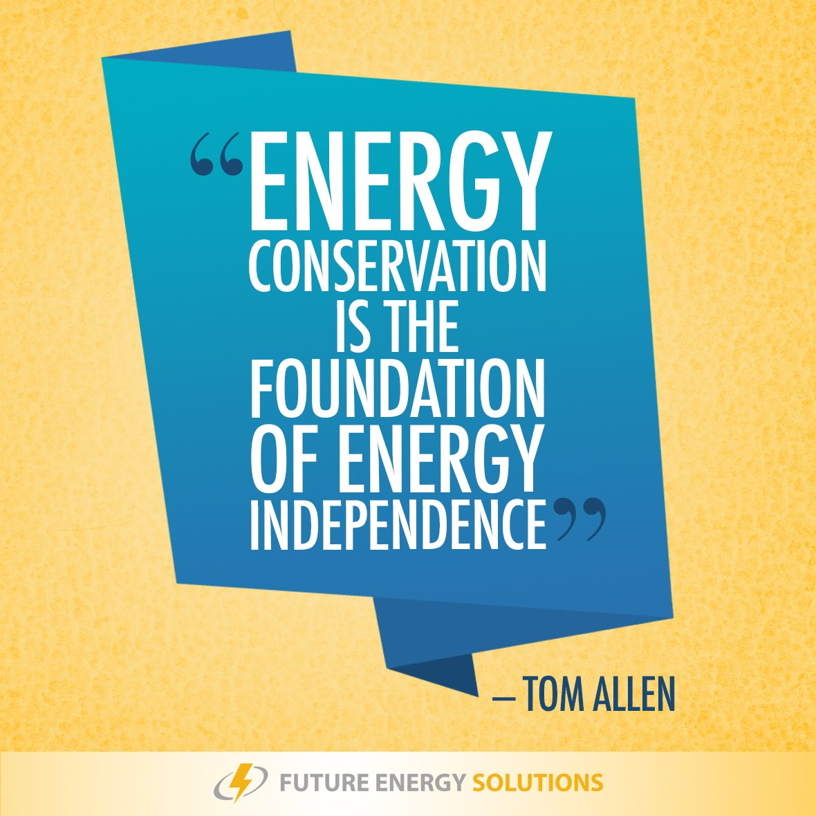 Future Energy Solutions On Twitter FES Friday Phrase Conservation Is The Foundation Of Independence