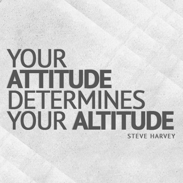 The Power of a Positive Attitude your attitude determines your altitude essay 1.