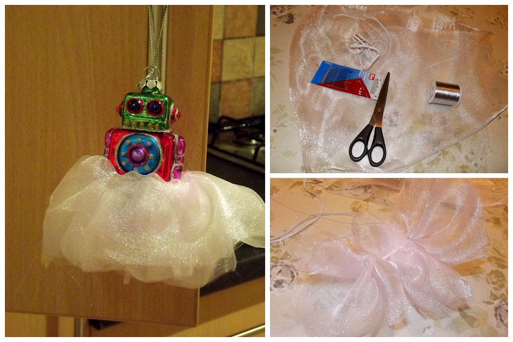 Yes. I did spend some of my evening sewing a tutu for the robot that goes on top of our Christmas tree. What of it? https://t.co/HtcI9sYiVj
