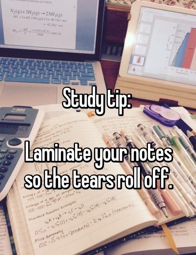 sch4u exam study notes