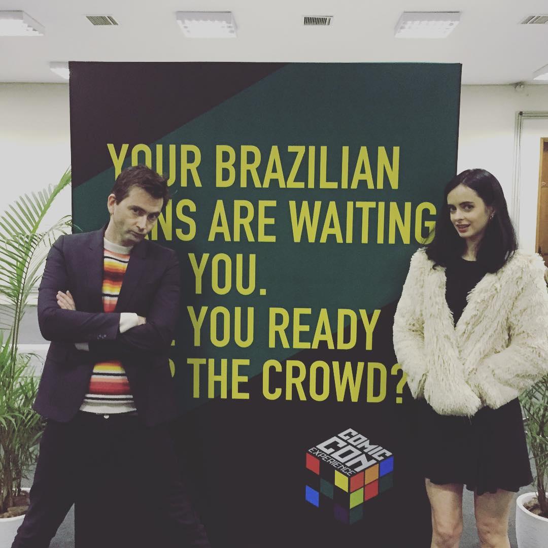 David Tennant at Comic Con Brazil