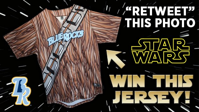 Retweet this post for a chance to win this official team-issued wookie jersey! https://t.co/Ced7LwfVSy