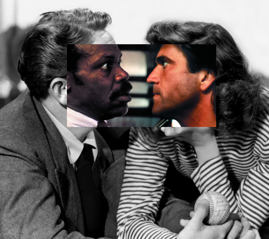 was fiddling around in photoshop when I noticed you could make Spencer Tracey and Katherine Hepburn into LA's finest https://t.co/ufXgpoxLQR