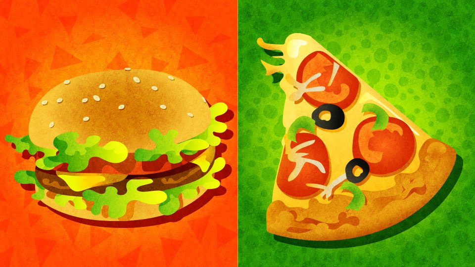 [北米] 第8回 「ハンバーガー vs ピザ」