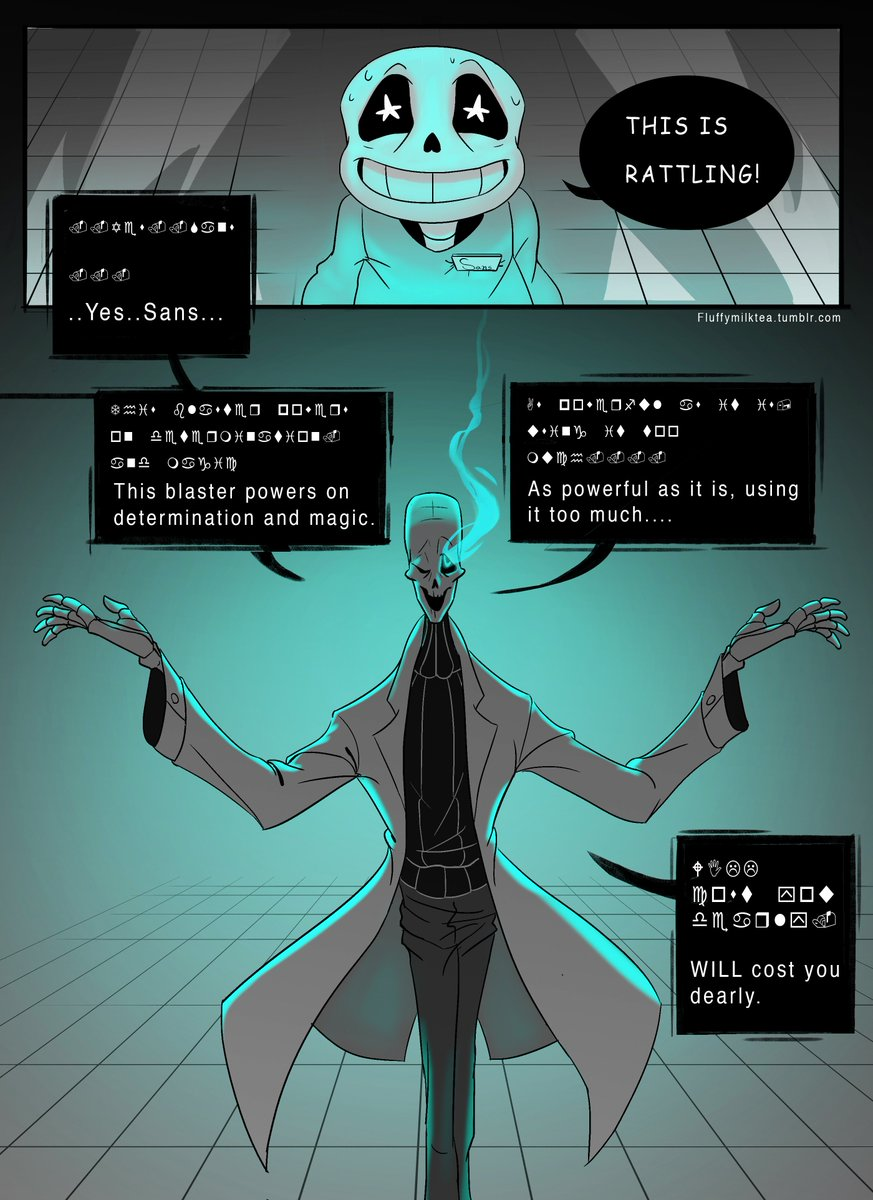how to make a gaster blaster fight