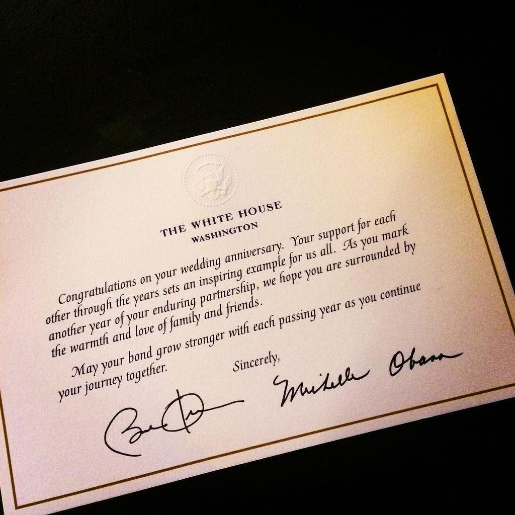 Alyssa f on twitter the whitehouse intern sent the anniversary alyssa f on twitter the whitehouse intern sent the anniversary card instead of the happy wedding card thanks httpstkzf96fn4nk m4hsunfo
